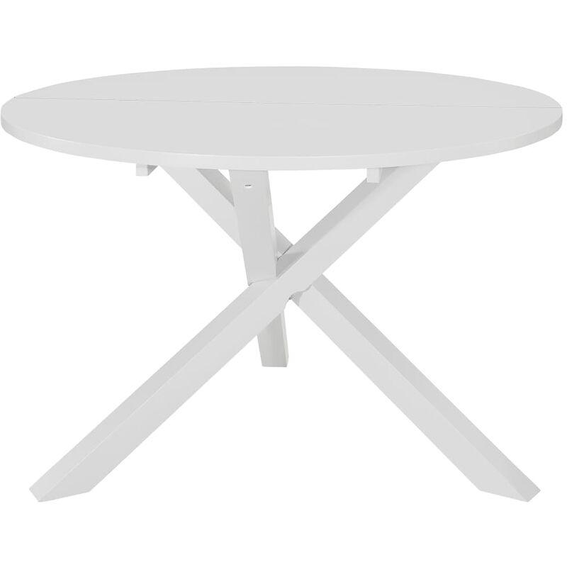 Esstisch 120x75cm MDF Weiß - VIDAXL