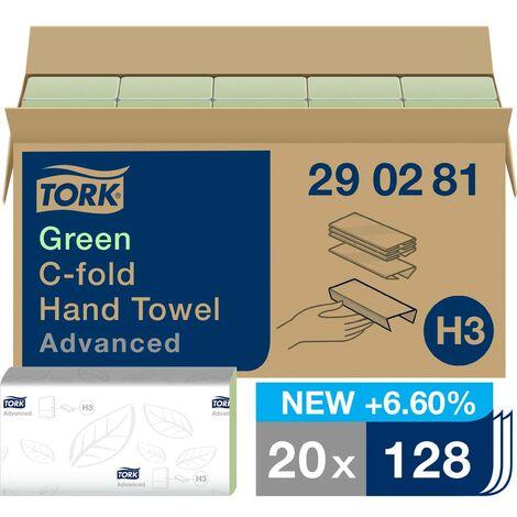 Essuie-main en papier TORK 290281 vert 20 pièces/pack 20 pc(s)