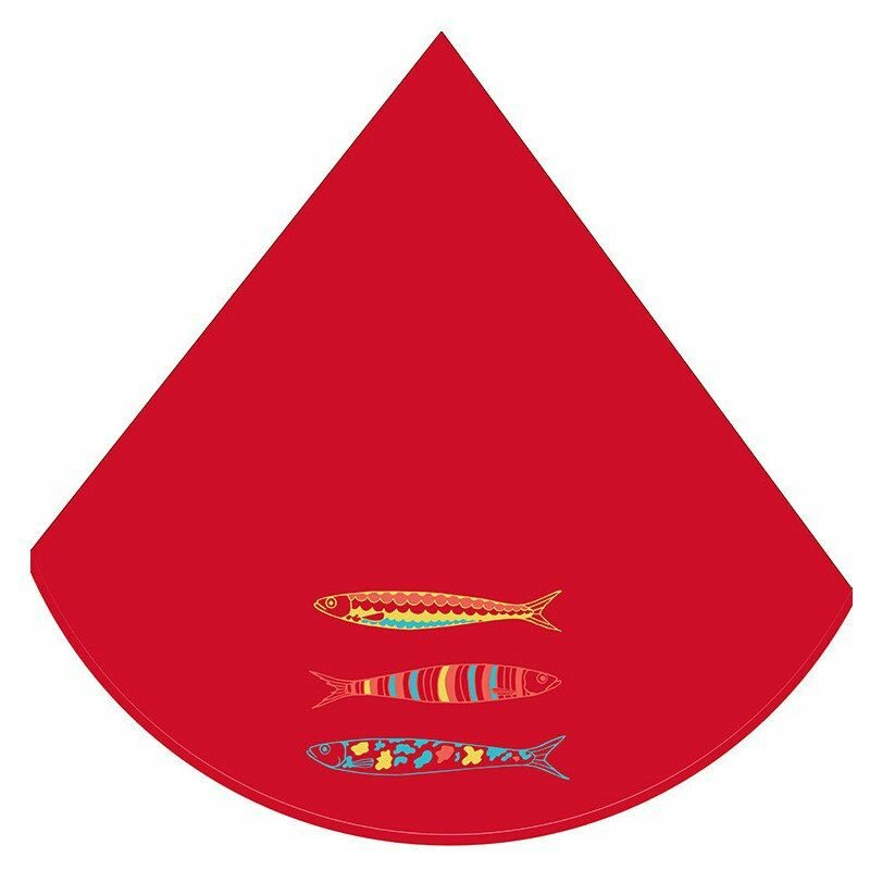 Eponge (0) 60cm Sardines Rouge - ACCESS DECO