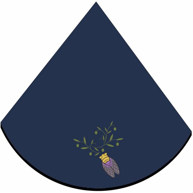 Eponge (0) 60cm Cigale Bleu - ACCESS DECO