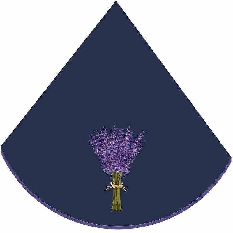 Eponge (0) 60cm Lavande Bleu - ACCESS DECO
