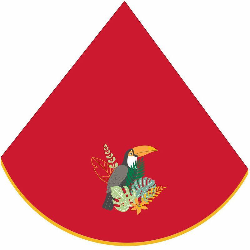 Eponge (0) 60cm Toucan Rouge - ACCESS DECO