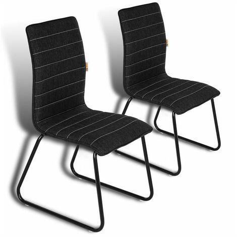 Esszimmerstühle Küchenstühle 2er Set Esstisch Stühle Esszimmer Essstühle Retro