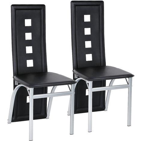 Esszimmerstühle Küchenstühle, Esszimmerstuhl Wartestuhl Besucherstuhl Kunstleder