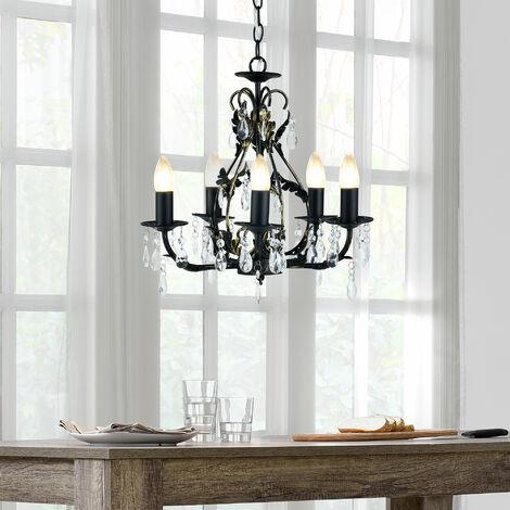 Esta lámpara de techo - (5 x E14) - Iluminación colgante / lámpara de araña