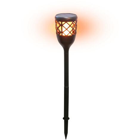 Estaca Led efecto fuego solar recargable/USB (GSC 201210000)