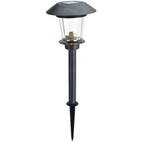 Estaca LED solar inox 52 cm - talla