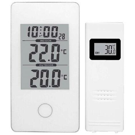 PURLINE WS07N Estaci/ón meteorologica con Pantalla tactil y Sensor de Exterior