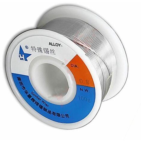 Estaño especial para soldar acero, aluminio, cobre puro, zinc 1,2 mm 100 gr
