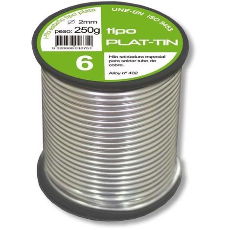 Estaño-Plata Fonta 6% 2Mm 250 G - BROFIL - B13Mac072002N131