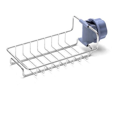 Estante de almacenamiento de fregadero de cocina de perforacion libre de ventilacion