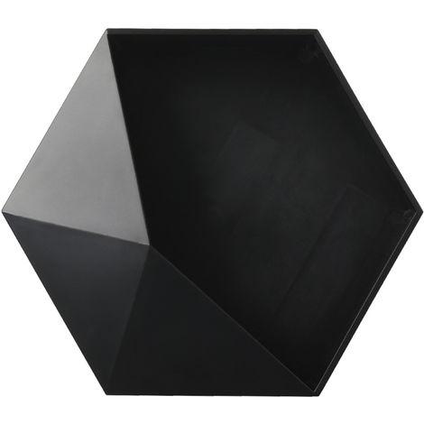 Estante de bano, estante de almacenamiento de articulos de tocador,Negro