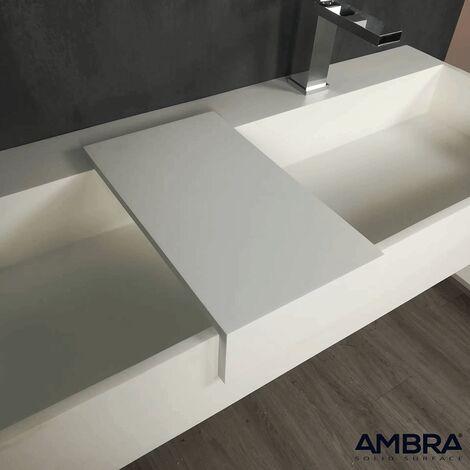 Estante de Solid Surface para poner encima del lavabo