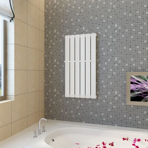 Estante de toalla 465 mm panel de calefacción blanco 465x900 mm
