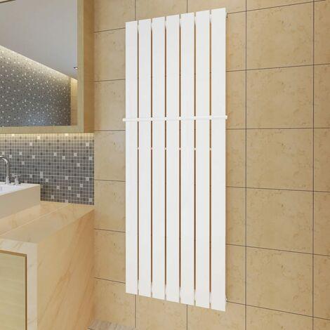 Estante de toalla 542mm+panel de calefacción blanco 542 x1500 mm - Blanco