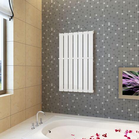 Estante de toalla 542mm + panel de calefacción blanco 542x900 mm - Blanco