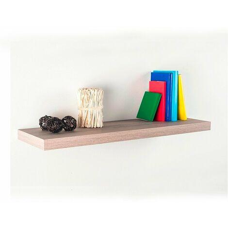 Estante tamborado de madera HD-4 80x25cm