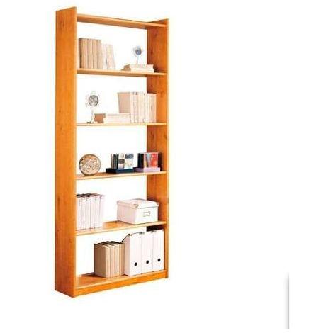 Estanteria 80 cm x 200 cm Altea madera maciza de pino color miel.