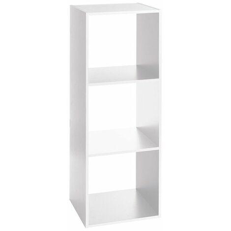 Estantería auxiliar de madera 3 estantes