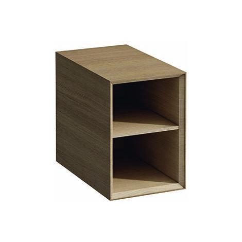 Estantería Boutique en funcionamiento abierta, 300x500x430, color: Roble decoración ligera - H4091011502501