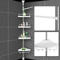 Estantería de ducha telescópica- acero inoxidable - 155-304cm