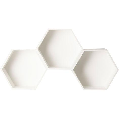 EstanterÍa Hexagonal - Blanco