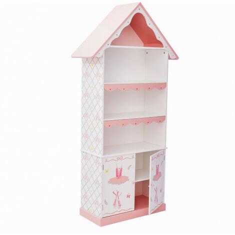 Estantería Infantil para Niños Libreria Madera Swan Lake Fantasy FieldsTD-12717A