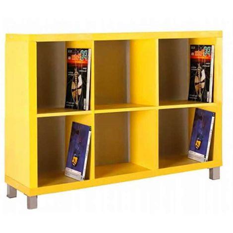 Estantería kubox 3x2 varios colores Color Naranja