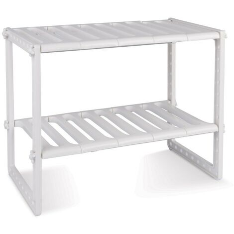 """main image of """"Estantería modular de 2 niveles para interior armarios y muebles"""""""