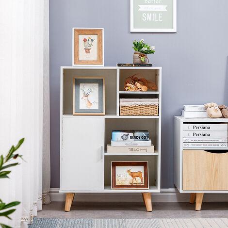Estantería para Libros | Librería de Madera | para decorativo - oficina / Hogar 60*28*80cm