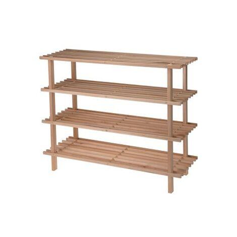 Estanteria zapatero madera