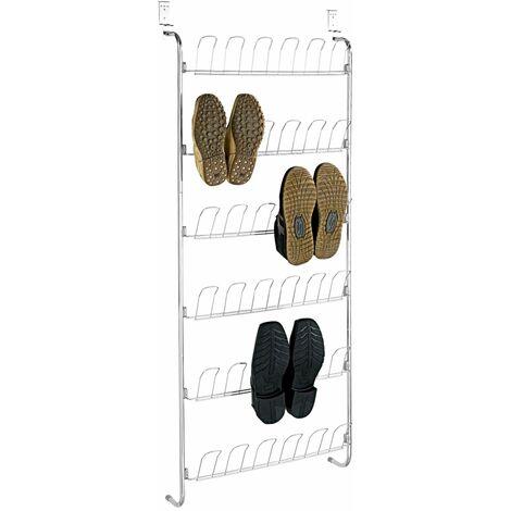 Estanteria zapatero para puerta 18 pares de zapatos