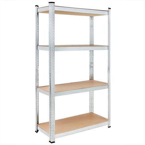 Estanterías metálicas estantes estanteria de almacenamiento garaje almacen taller para cargas pesadas