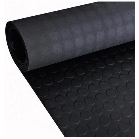 Estera Antideslizante de Caucho del Suelo   1 metro de ancho   Suelo Circulos Varias medidas - 10x 1 m Punto Redondo
