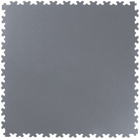 Estera embaldosado PVC gris oscuro, 505x505x4mm