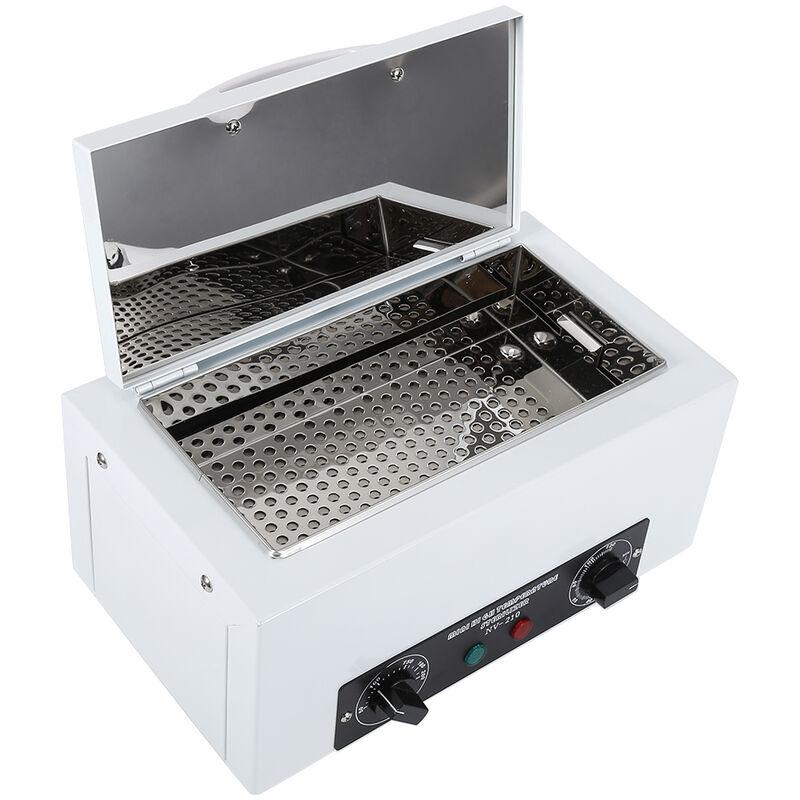 Esterilizador De Calor Seco   Gabinete De Desinfección con asa --Esterilizador De Alta Temperatura 300W blanco - OOBEST