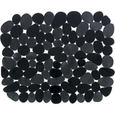 Esterilla de fregadero Stone negro
