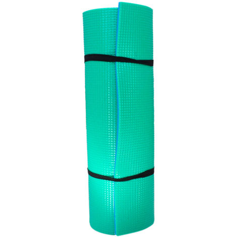 Esterilla Yoga Anti-deslizante Azul y Verde Colchoneta 77x162 cm