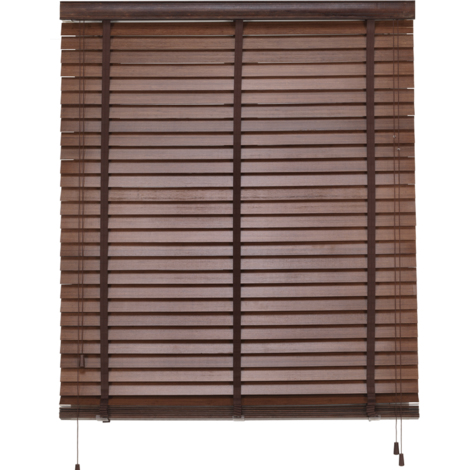 Bambú- Estor decorativo, 160x180cm, Nogal