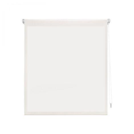 Estor Enrollable 140X180 CRUDO Translúcido EASY FIX, Fácil Montaje mediante Pinzas Marco Ventana o Adhesivo