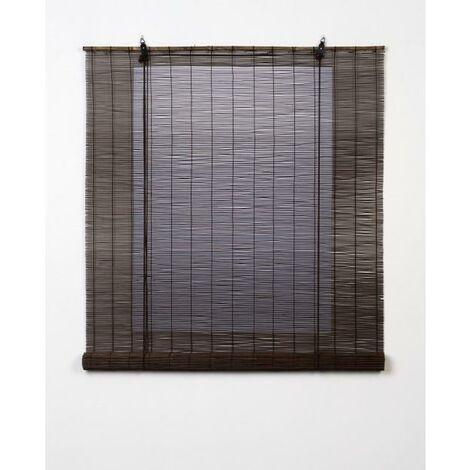 Estor Enrollable Bambú Natural Wenge 90X175
