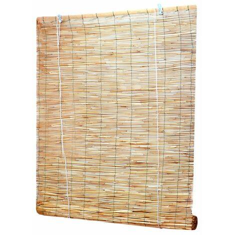 Estor de madera trenzada