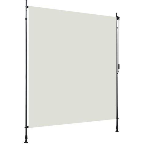 Estor enrollable de exterior color crema 200x270 cm