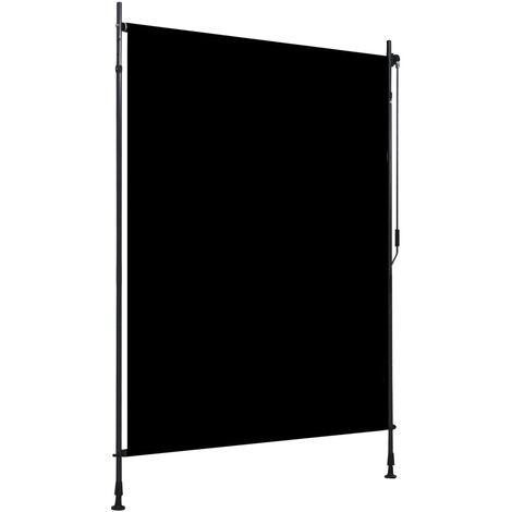Estor enrollable de exterior gris antracita 150x270 cm