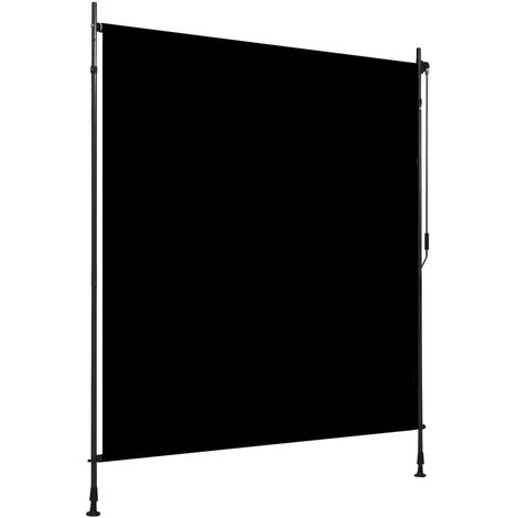 Estor enrollable de exterior gris antracita 200x270 cm - Gris