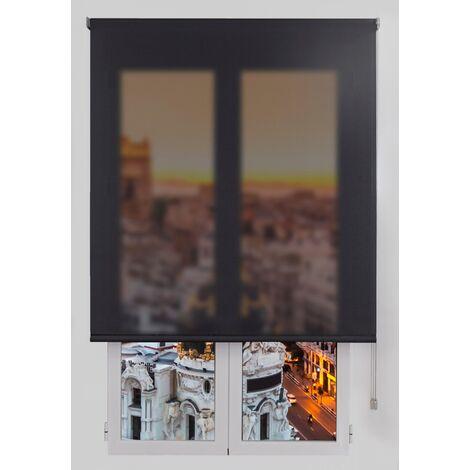 Estor Enrollable Marengo 110x175Cm - Ancho x Largo - Screen Traslúcido