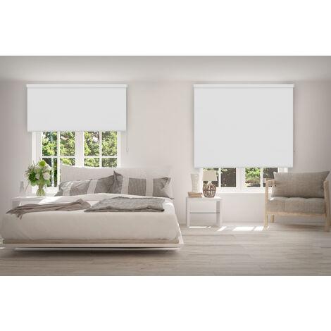 ESTOR ENROLLABLE OPACO WHITE 180 X 190