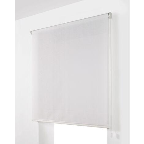Estor Enrollable Traslúcido Blanco 110x175Cm - Ancho x Largo