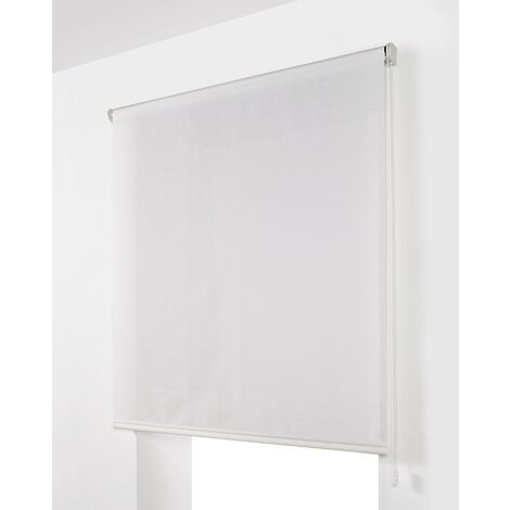 Estor Enrollable Traslúcido Blanco 130x250Cm - Ancho x Largo
