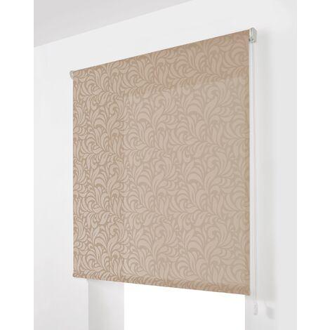 Estor Enrollable Traslúcido Lino 150x175Cm - Ancho x Largo - Con estampado decorativo